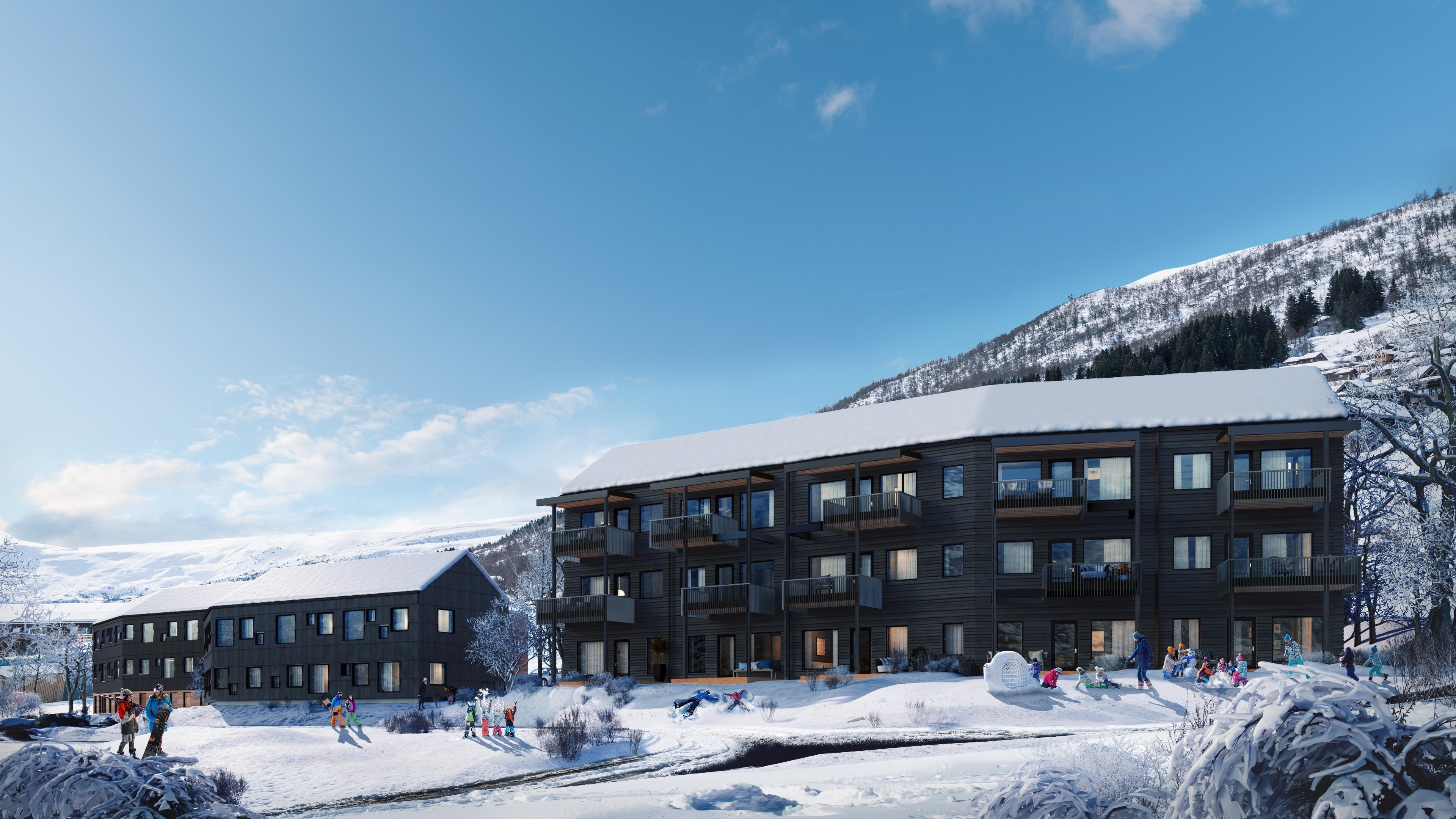 Svoletunet - prisvennlige leiligheter i Myrkdalen Fjellandsby